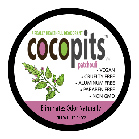 CocoPits All Natural Deodorant | Mini
