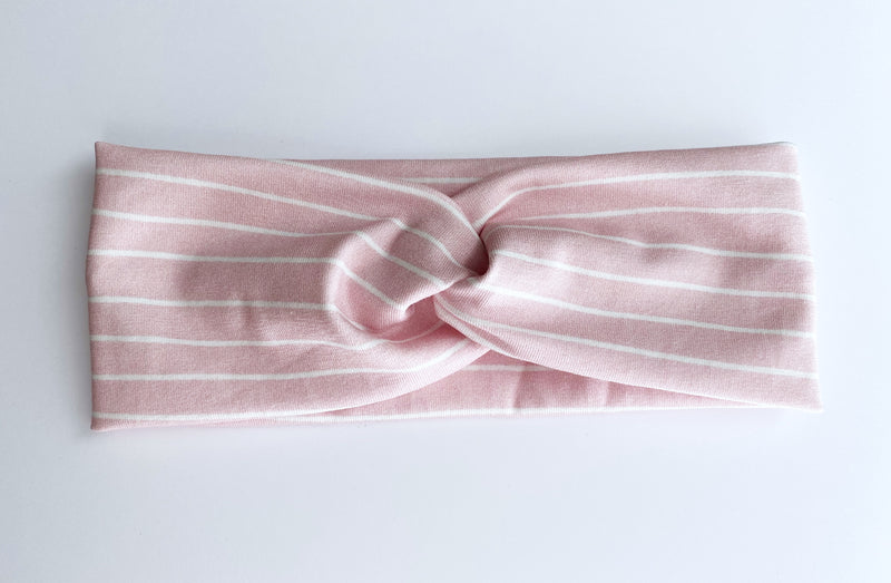 Pretty In Pink Stripe Headband - wholesale
