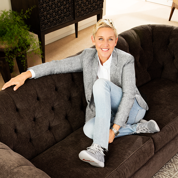 The ED Ellen DeGeneres Lifestyle Brand Message
