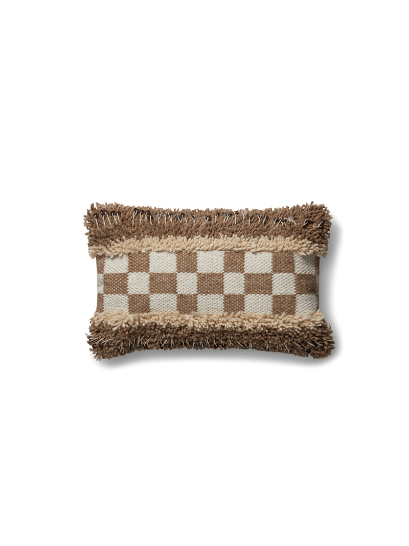 P4030 Tufted Checkerboard Pillow