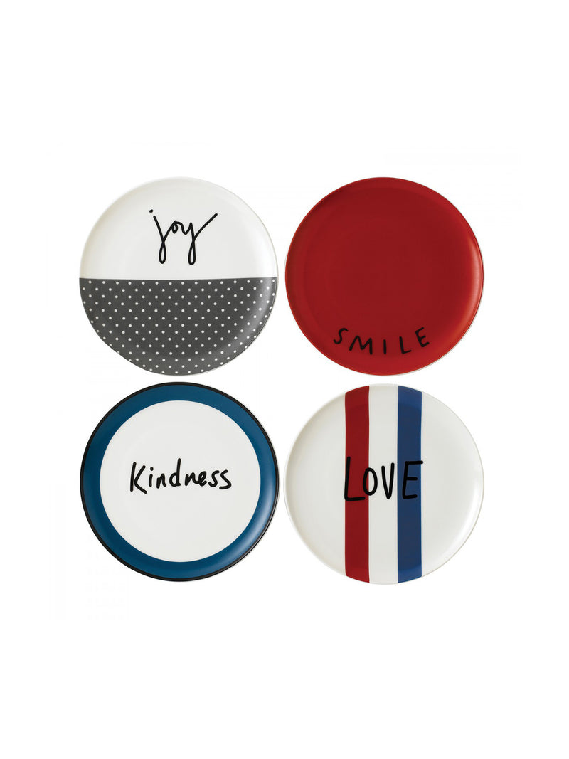 Joy Plate Set of 4