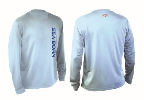 ::: CLEARANCE ::: Sea Born - Artic Blue Aquaflage Performance Long Sleeve
