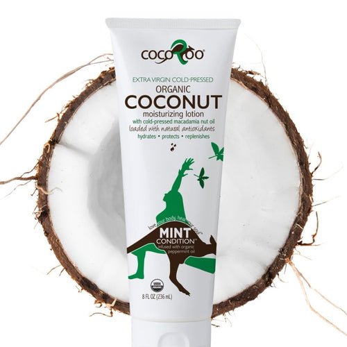 CocoRoo® Mint Condition™ USDA Organic Coconut Oil Moisturizer