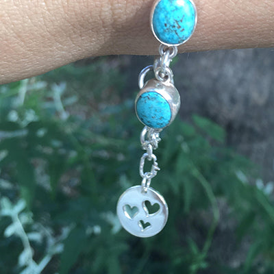 Energetic Stone and Keepsake (breastmilk, placenta, ashes) Goddess Bracelet