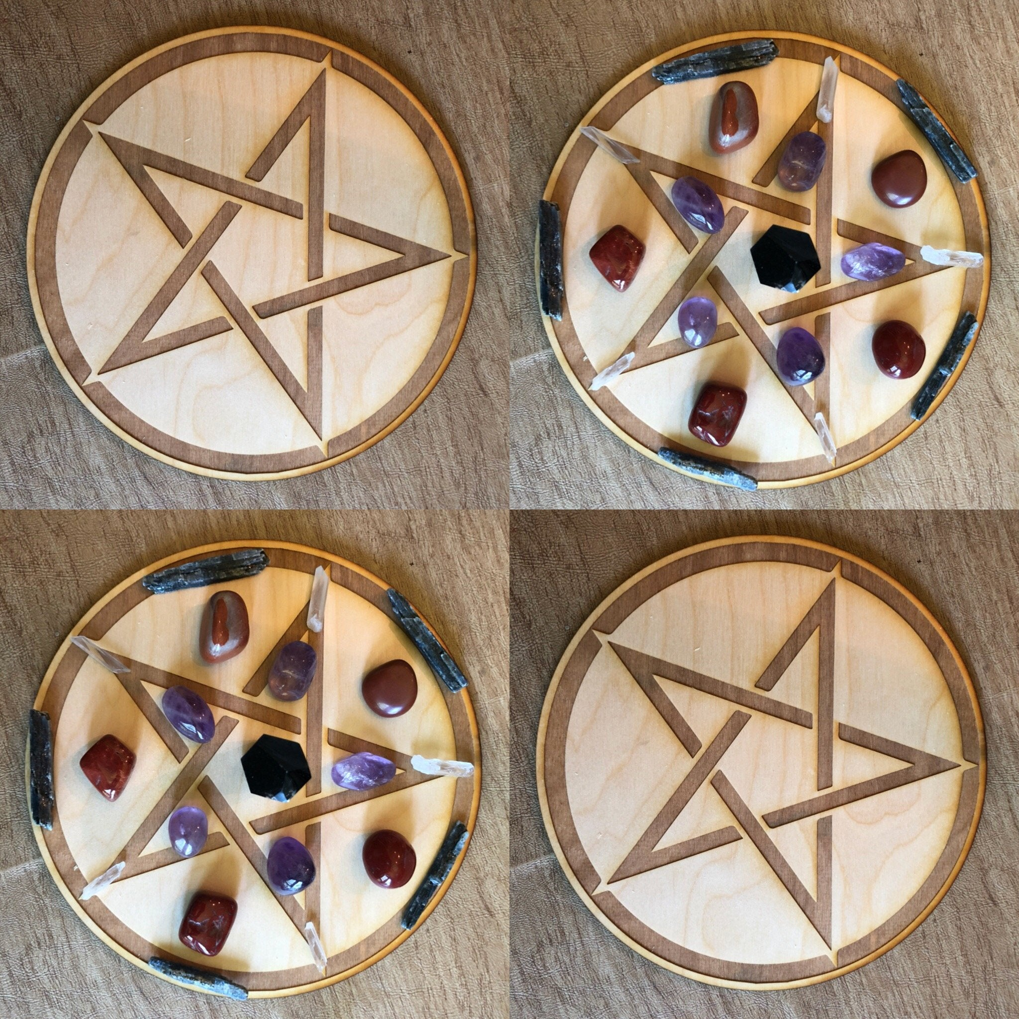 Pentagram Crystal Grid