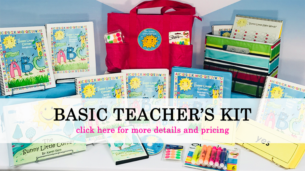 The Sunny Little Corner Basic Teacher's Kit