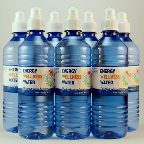 Energy Wellness Water - 24 Pack
