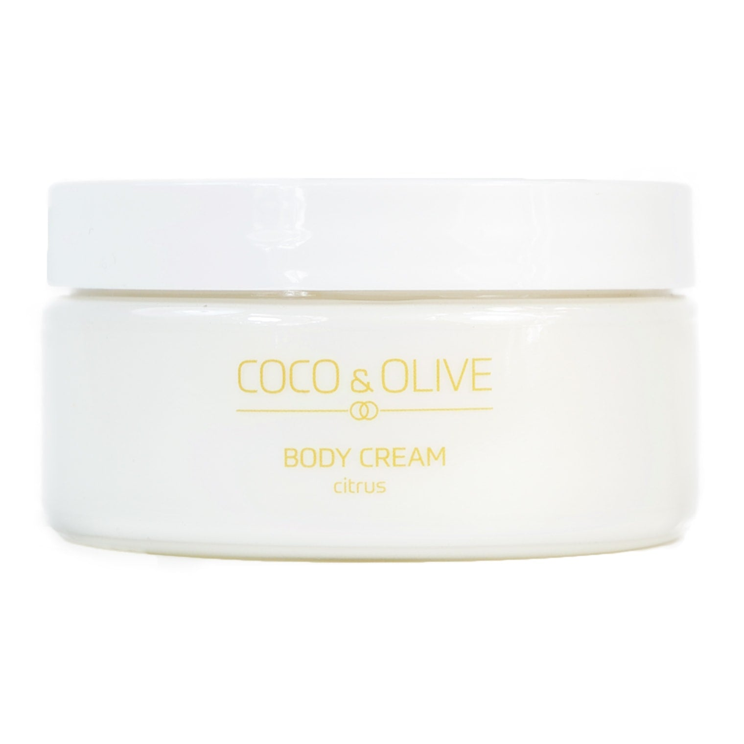 Body Cream: Citrus
