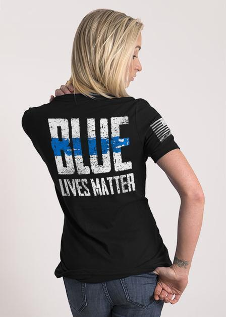 Blue Lives Matter Women's Relaxed Fit T Shirt