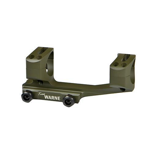 Gen 2 Extended Skeletonized MSR Scope Mount Picatinny-Style with Rings - 1 Piece, 30mm Tube Diameter, Olive Drab Green