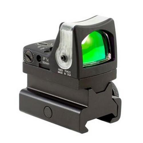 RMR Dual-Illuminated Sight - 12.9 MOA Amber Triangle Reticle with RM34 Picatinny Rail Mount, Black