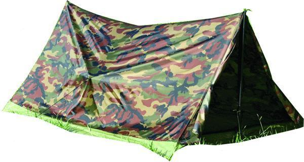 Texsport Trail Tent Camo 2-person