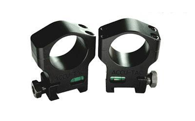 Accu-tac Scope Rings 30mm Black