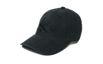 Phu Skull Flex Hat Black-black L-xl