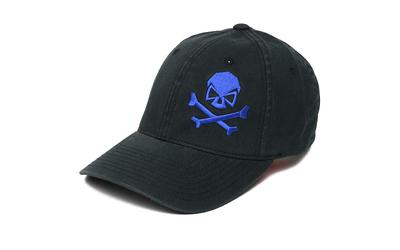 Phu Skull Flex Hat Black-blu L-xl
