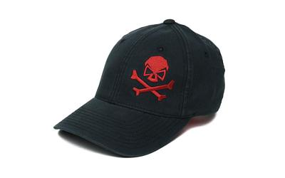 Phu Skull Flex Hat Black-red L-xl