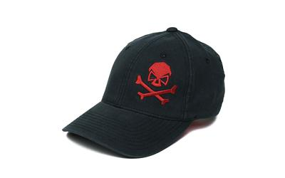 Phu Skull Flex Hat Black-red S-m