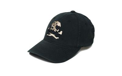 Phu Skull Flag Flex Hat Black S-m