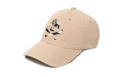 Phu Skull Flag Flex Hat Tan L-xl