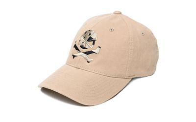 Phu Skull Flag Flex Hat Tan S-m