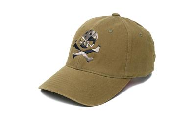 Phu Skull Flag Flex Hat Olive L-xl