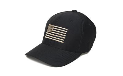 Phu Wmd Perf Flag Flex Hat Black-whi