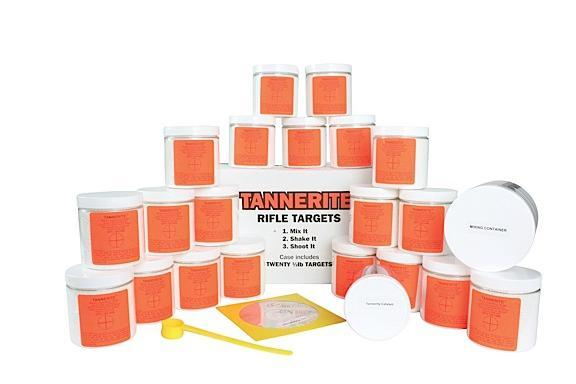 Tannerite PP20 ProPack 1-2lb Exploding Targets 20-Case Includes Measuring Spoon