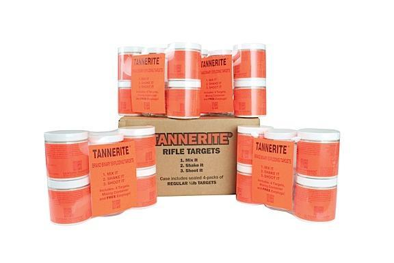 Tannerite 1-2BR Half Brick 1-2lb Exploding Targets 16-Case w-Measuring Spoon