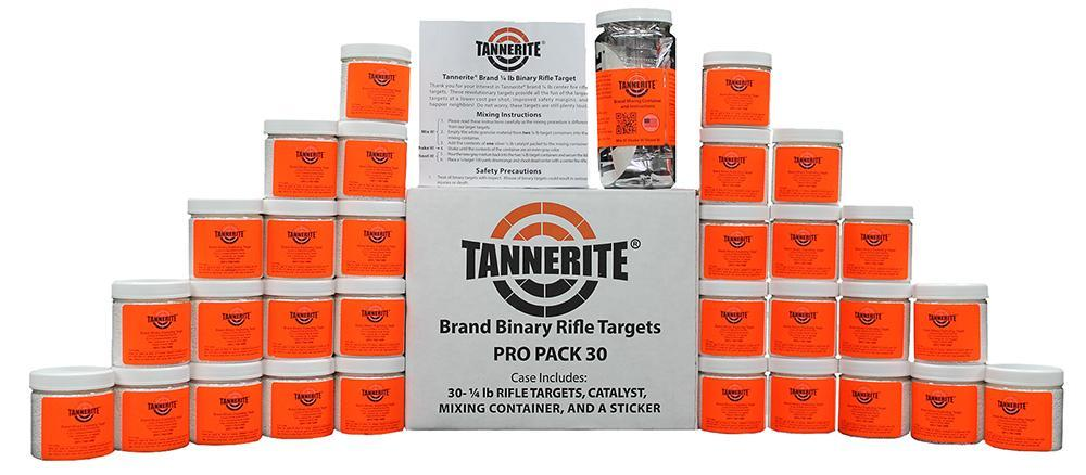 Tannerite PP30 Exploding Target 1-4 lbs 30 Count Pro Pack
