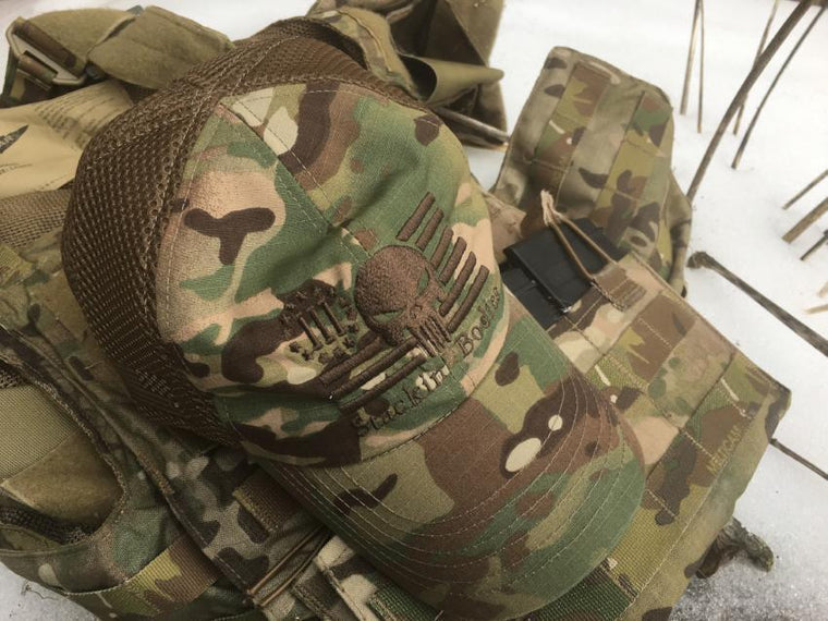 Stackin' Bodies American Made Multicam Mesh Cap