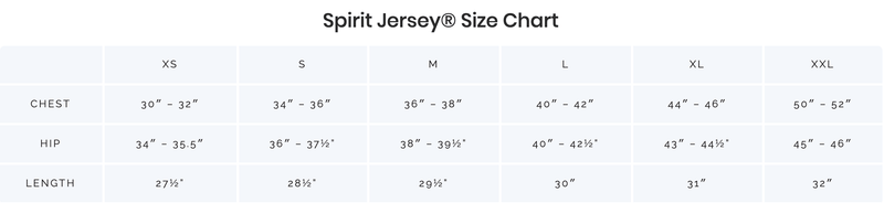 Always More Spirit Jersey® - White