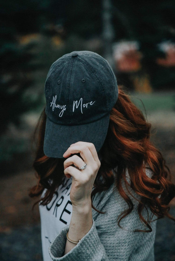 Always More Dad Hat - Black