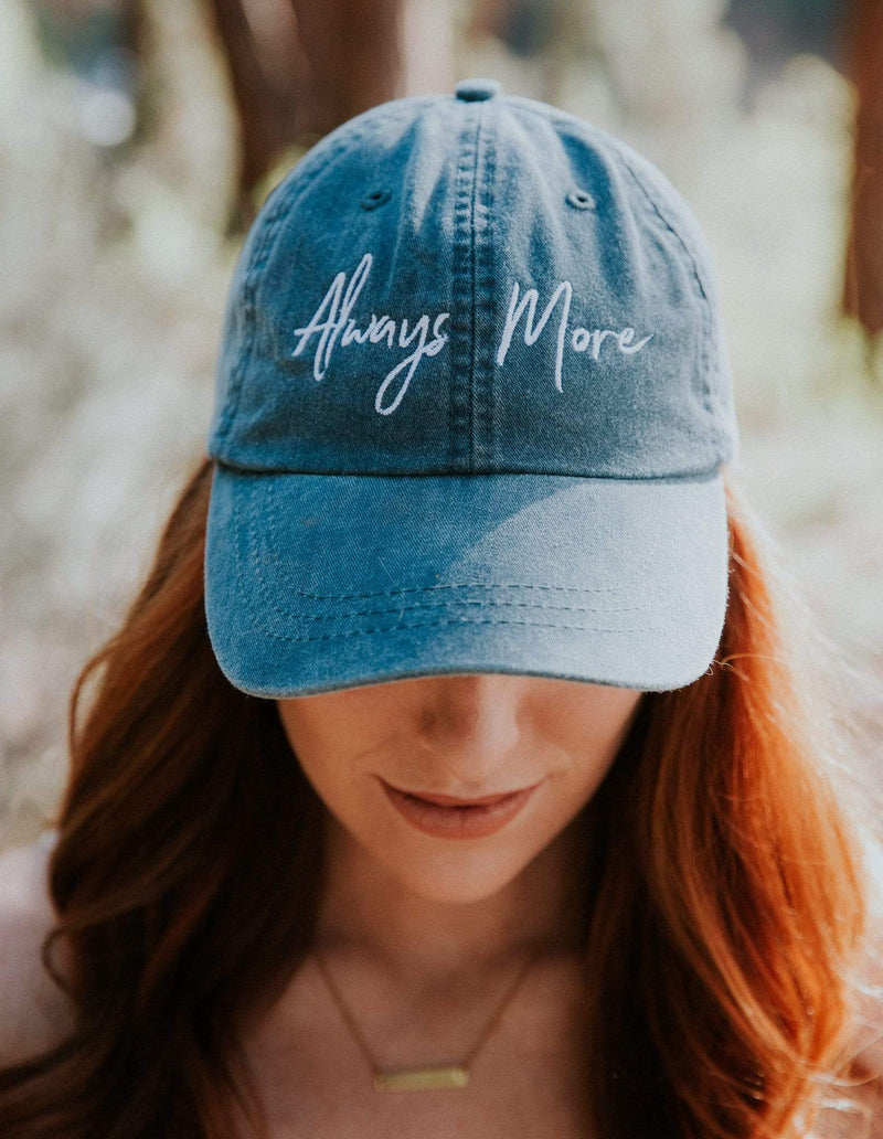 Always More Dad Hat - Denim Blue