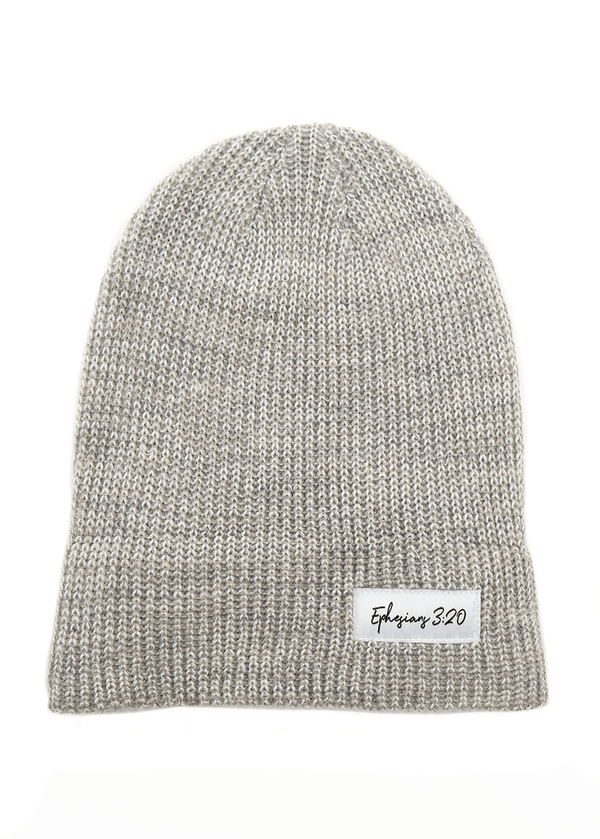 Always More Fold Beanie - Grey