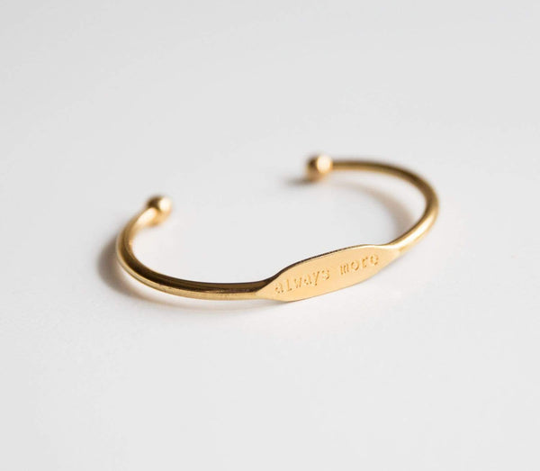 Always More Bracelet Cuff - Gold