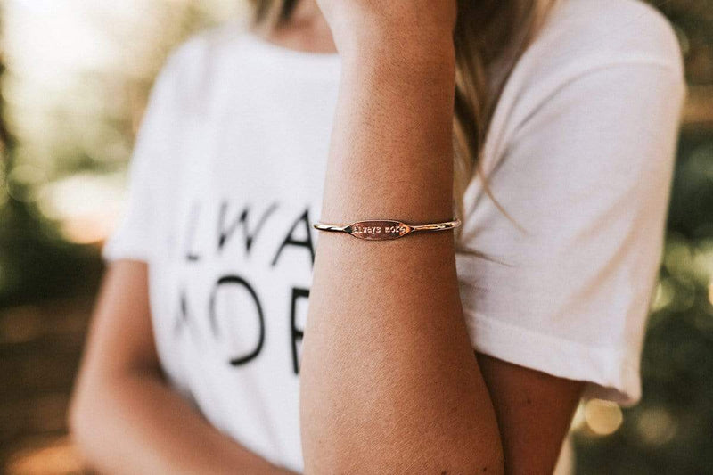 Always More Bracelet Cuff - Rose Gold - Limited Edition