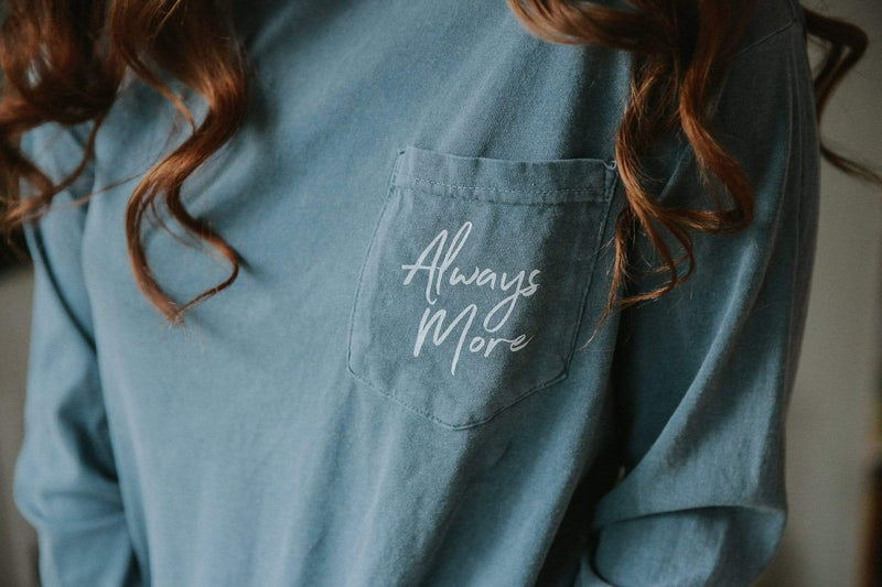 Always More Long Sleeve - Blue