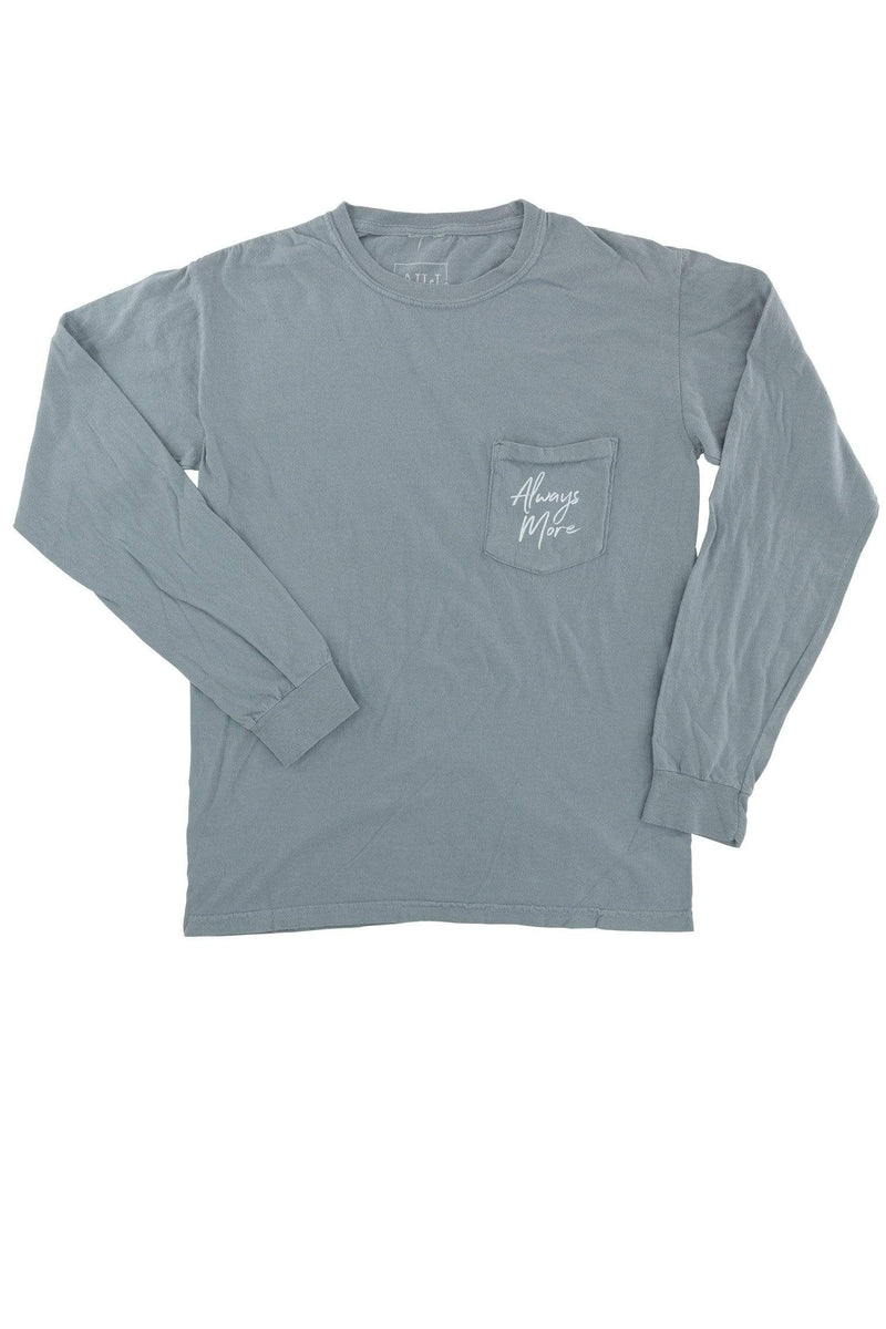 Always More Long Sleeve - Vintage Grey