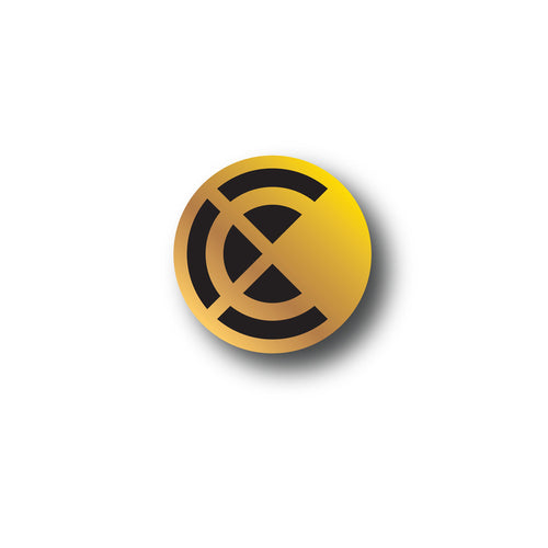 Chronixx Icon Logo Pin Gold - PREORDER