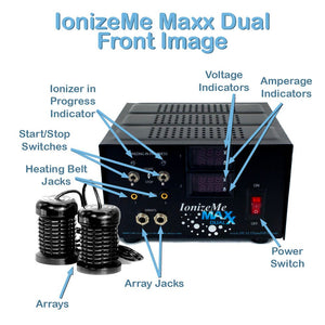 IonizeMe Maxx - Powerful Ionic Detox Foot Bath System