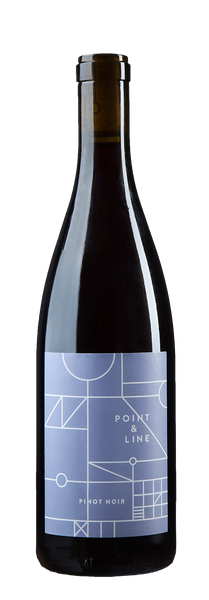 92pts Wine Enthusiast - Point & Line 2015 Gold Coast Pinot Noir