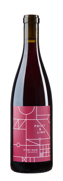 93pts Wine Enthusiast - Point & Line 2015 Reserve Pinot Noir - SOLD OUT