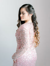 Vintage Pink Sequin Dress