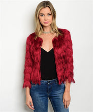 Wine Fringe Cocktail Jacket