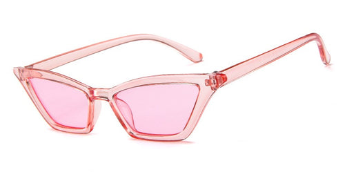 Transparent Pink Cat Eye Shades