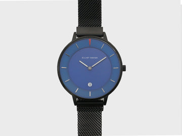 DEEP SEA BLUE MINIMALIST MESH - 38MM