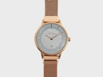 Cool Grey Minimalist Mesh 30mm