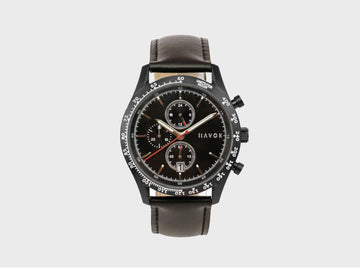 DIAMOND BLACK RACER CHRONOGRAPH - 42MM