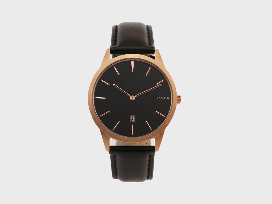 ROSE GOLD HAVOK WATCH - 40MM