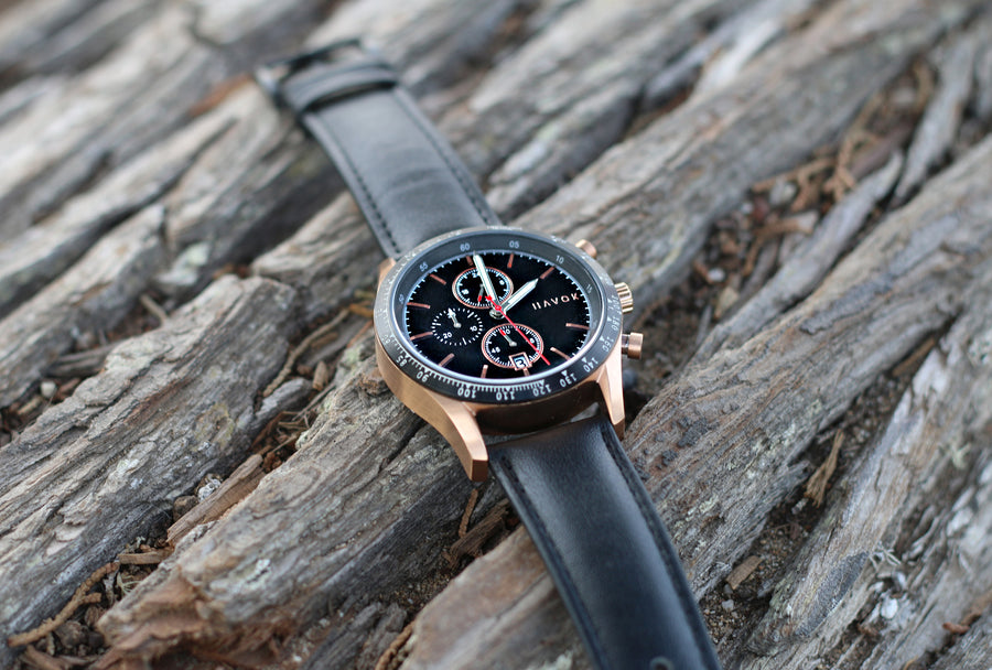 ROSE GOLD RACER CHRONOGRAPH - 42MM